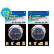 Relé Fotocélula Corujito Qr51 Qualitronix ( kit 2 unidades )