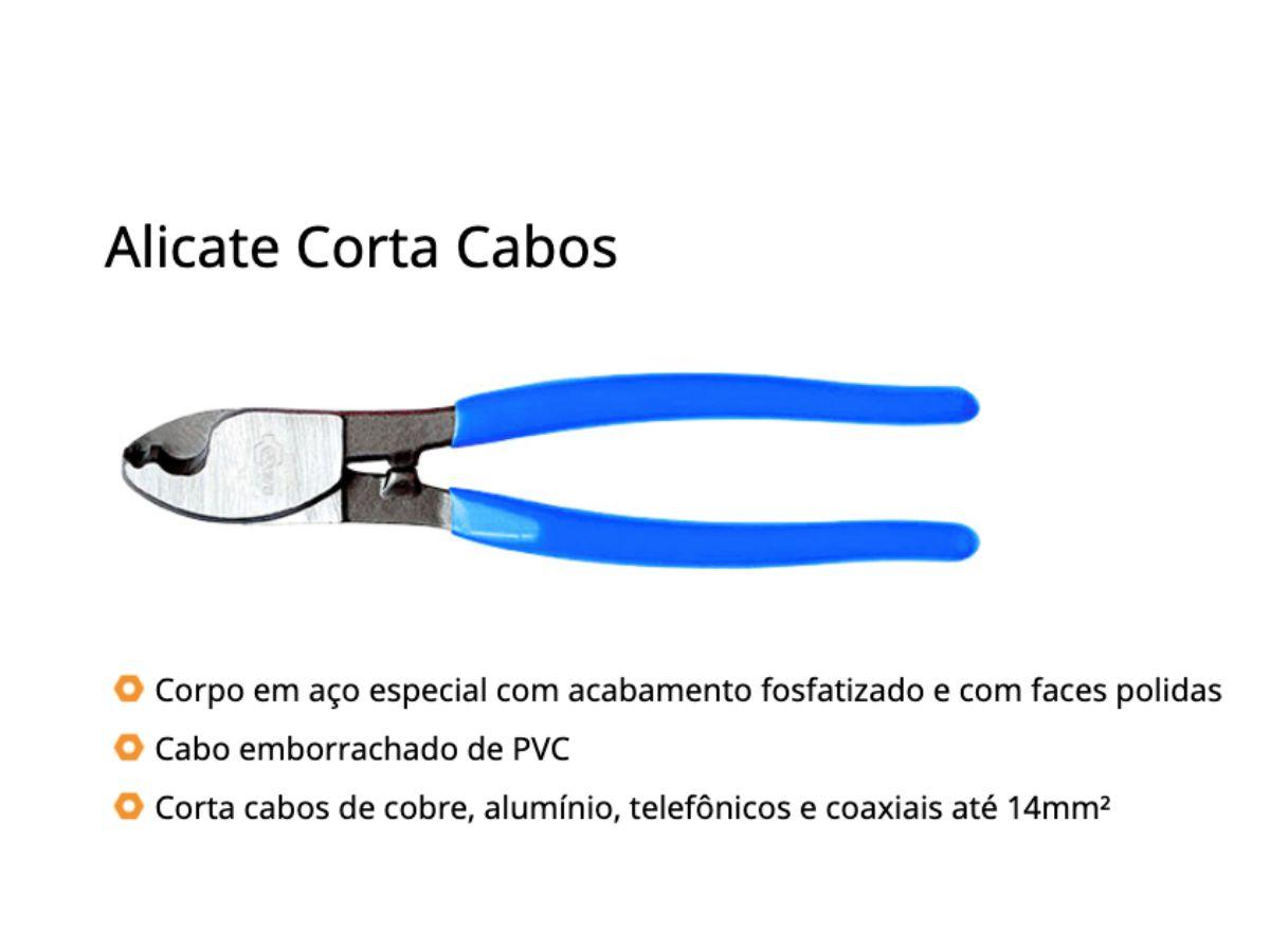 Alicate Corta Cabos 8p - 203mm Rayco