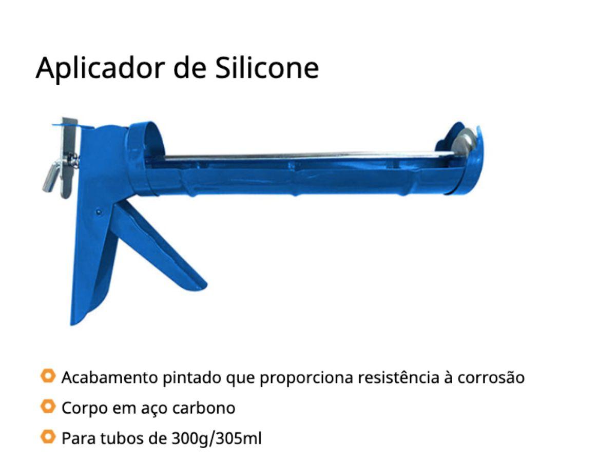 Aplicador de Silicone  9p - 229mm Rayco