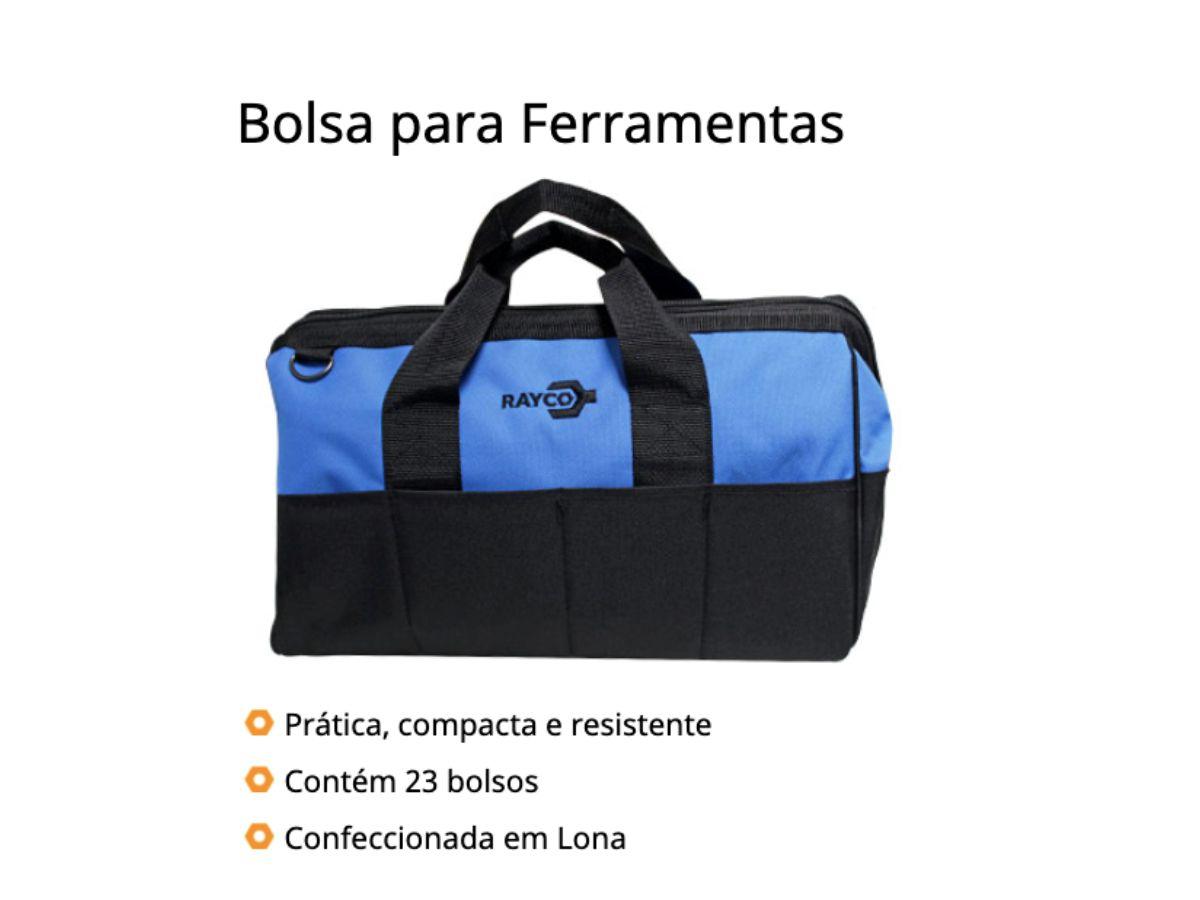 Bolsa para Ferramentas 16p 23 Bolsos 12151 Rayco