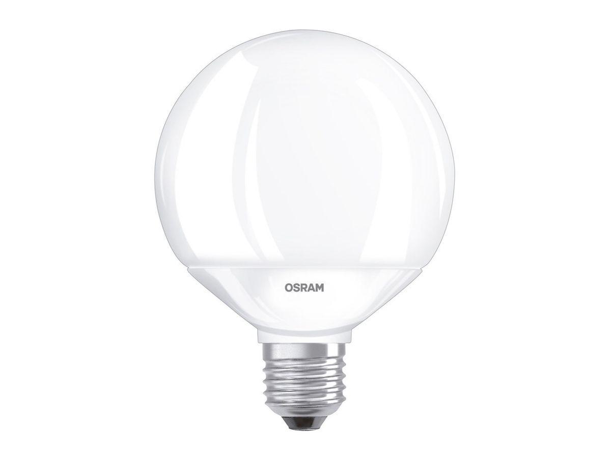 Lâmpada Led Globo 10w 900 lumens Luz Amarela 3000K Osram