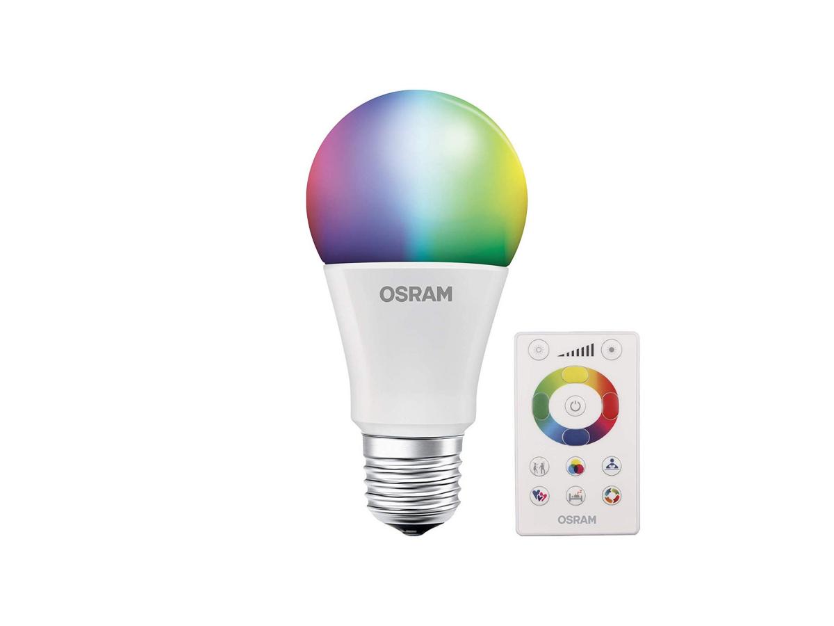 Lâmpada Led RGB 7.5w Com Controle Osram