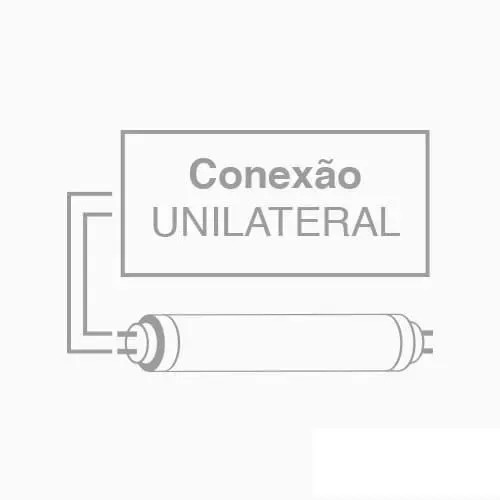 Lâmpada Led Tubular 60cm Luz Fria 9w Vidro Avant