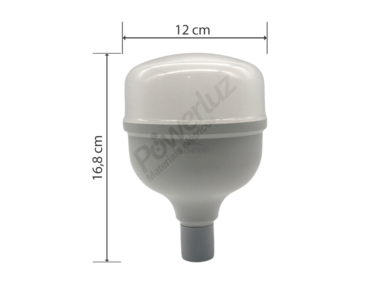 Lâmpadas Led 40w E27 High Power Luz Branca Blumenau