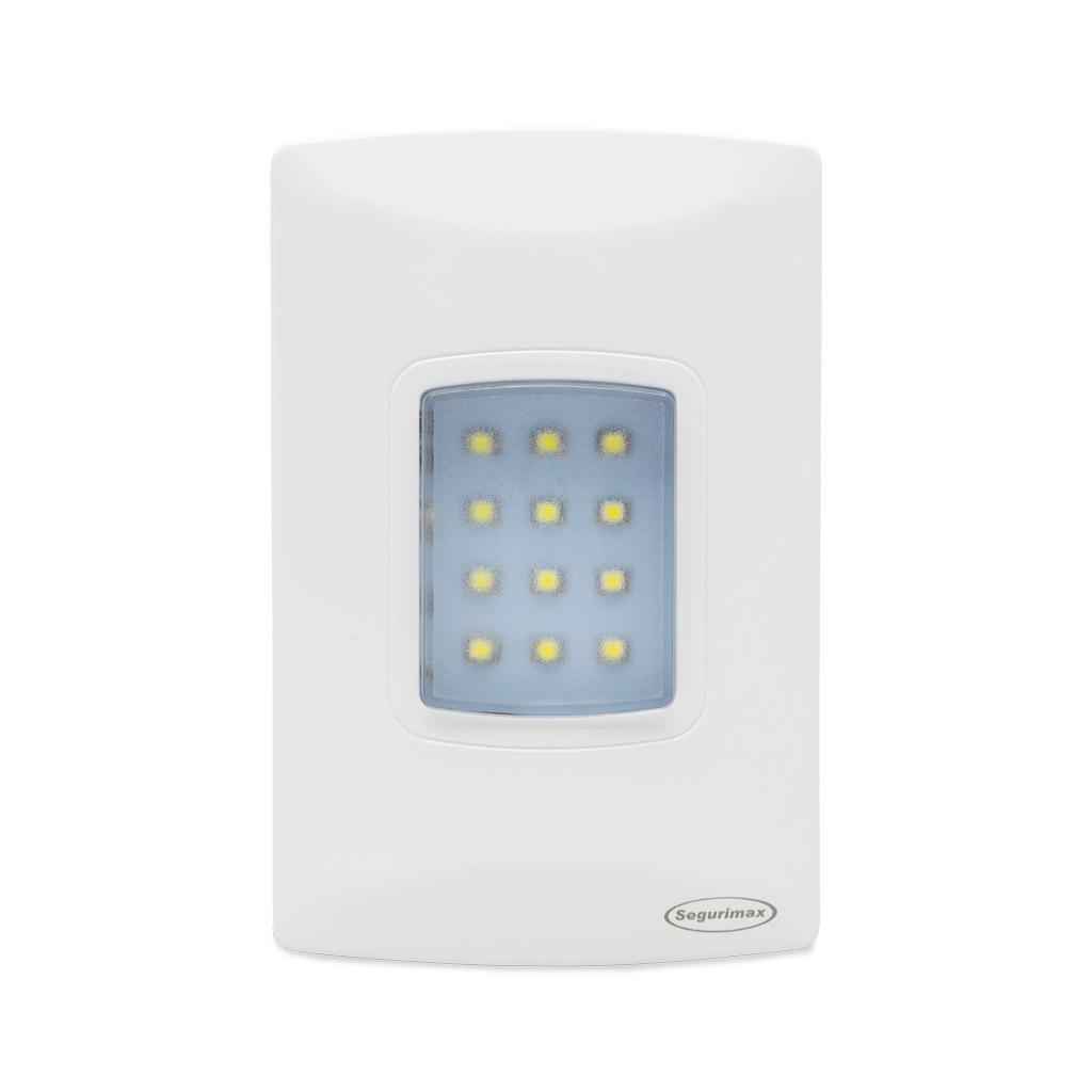 Luminária Emergência Led Embutir 100 Lúmes 25684 Segurimax