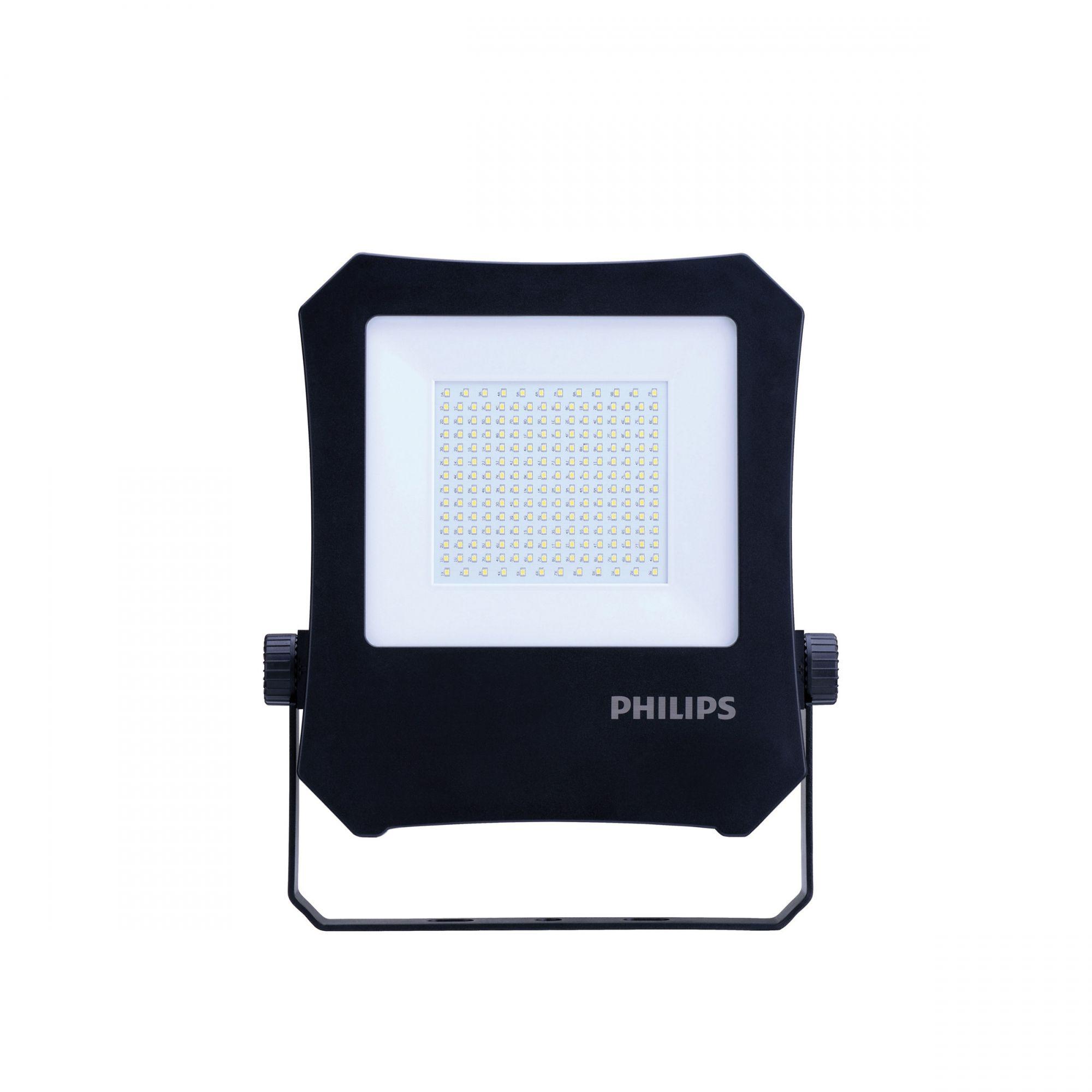 Refletor de Led 200w Preto Luz Fria Philips