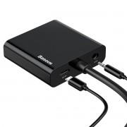 Adaptador HUB Baseus HD4K para VGA+Micro+DC3.5
