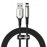 Cabo Lightning / USB Baseus Magnético Zinco 1.5A 2M com LED