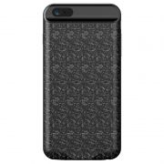 Capa Carregadora Baseus Plaid Slim 2500 mAh para iPhone 7 e 8