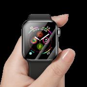Película  de Vidro Temperado Baseus com Bordas Resistente a Quebra 44mm para Apple Watch Series 4/5