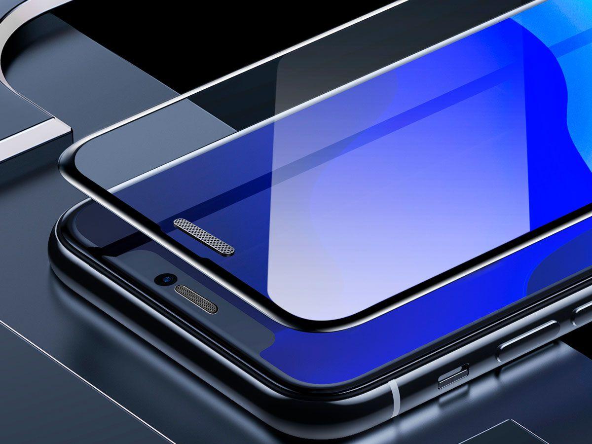 2 Películas Protetoras Curvas Baseus em Vidro Temperado para iPhone XR e 11