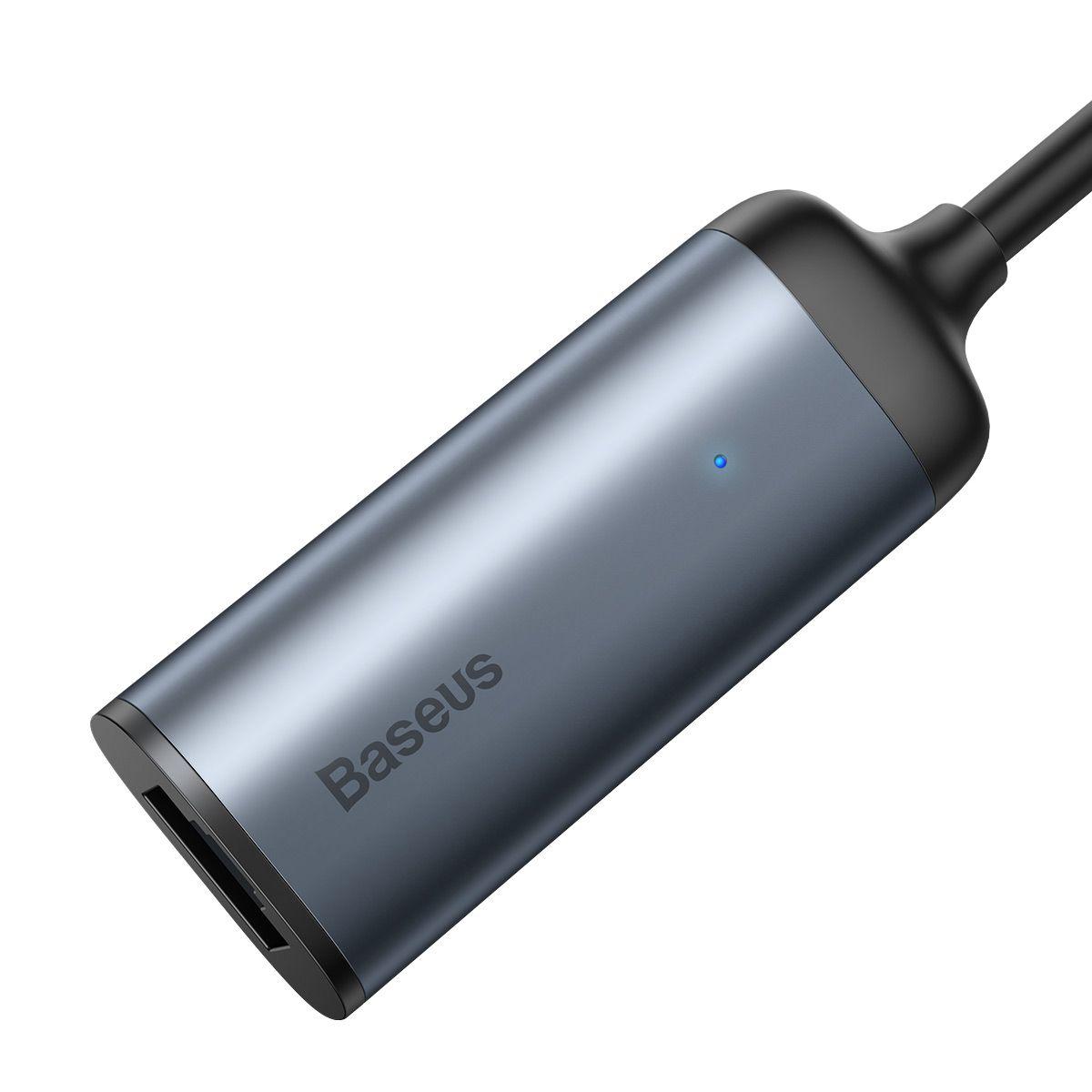 Adaptador Baseus Enjoy Type-C para Cabo de Rede LAN