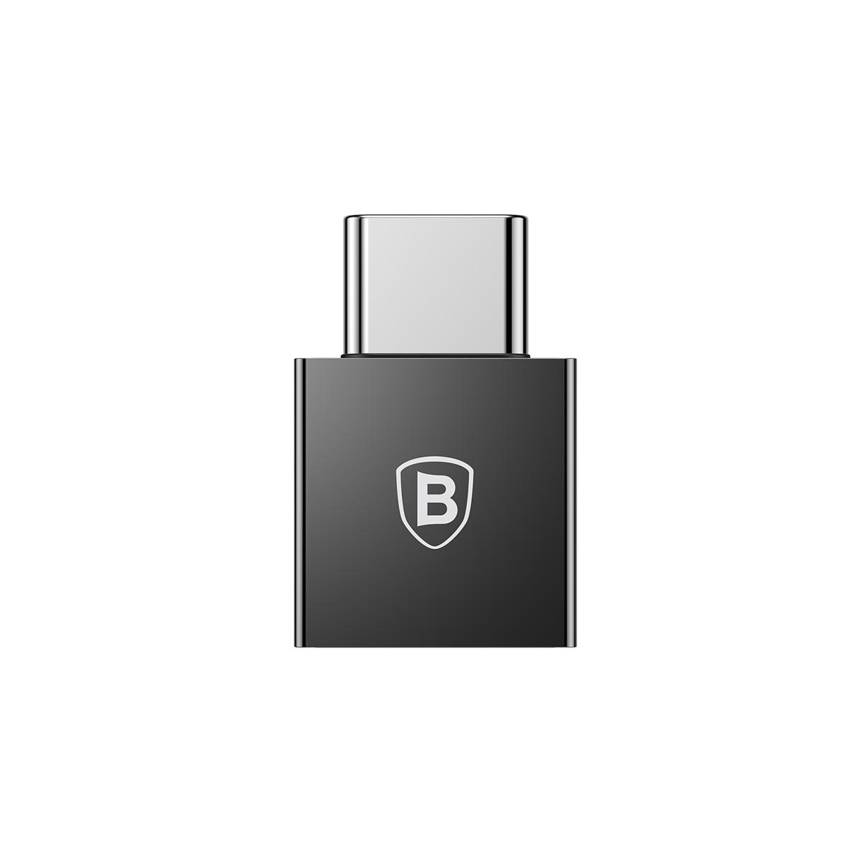 Adaptador Conversor Baseus Tipo-C Macho para USB Fêmea