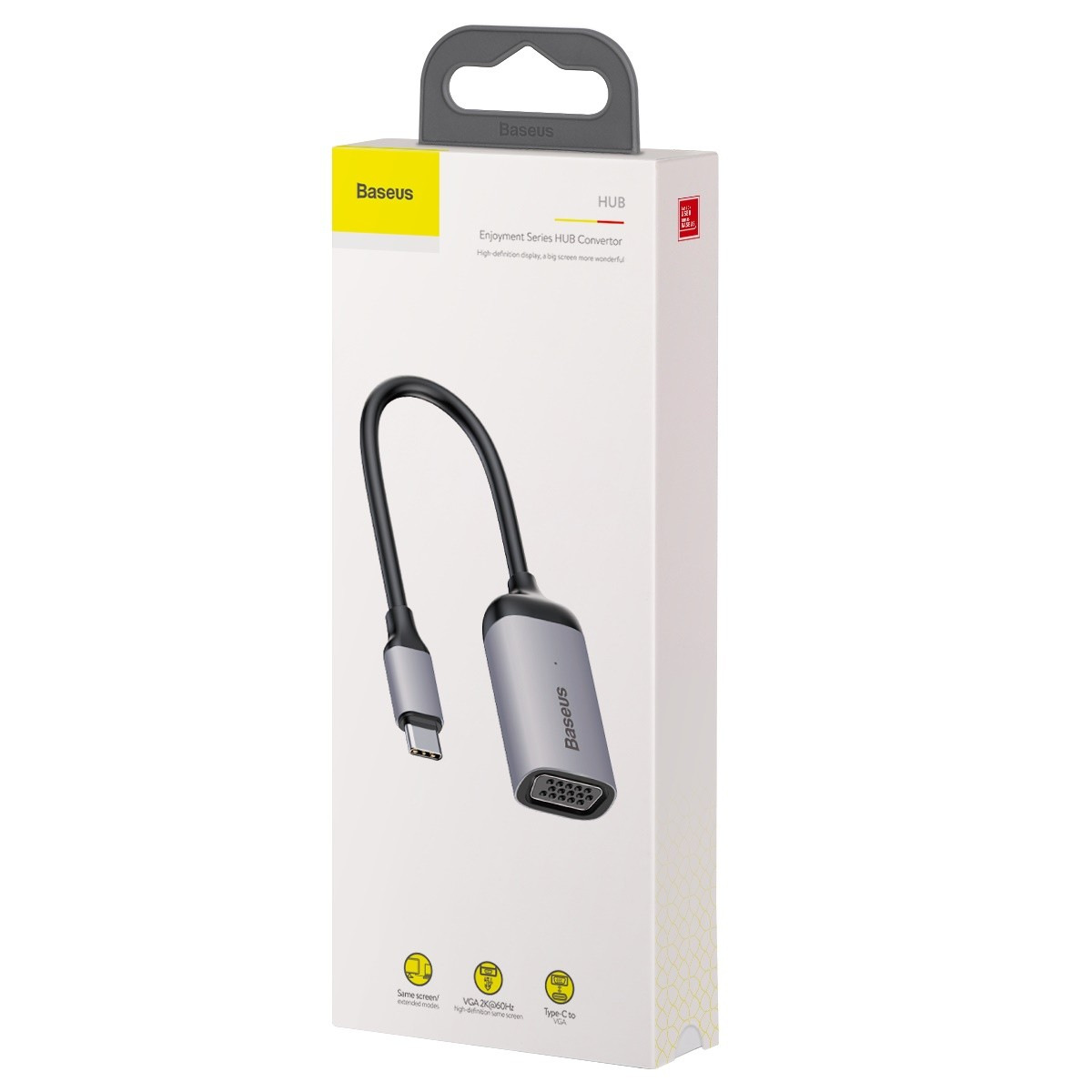 Adaptador Hub Baseus Enjoyment Type-C para VGA-PD