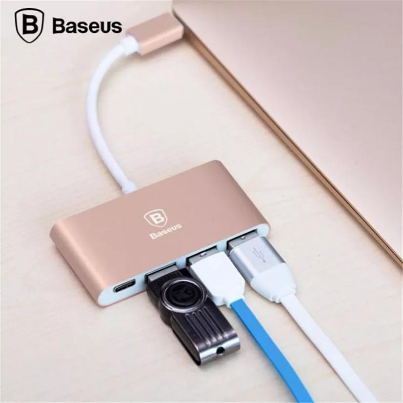 Adaptador Type-C Para USB (x3)