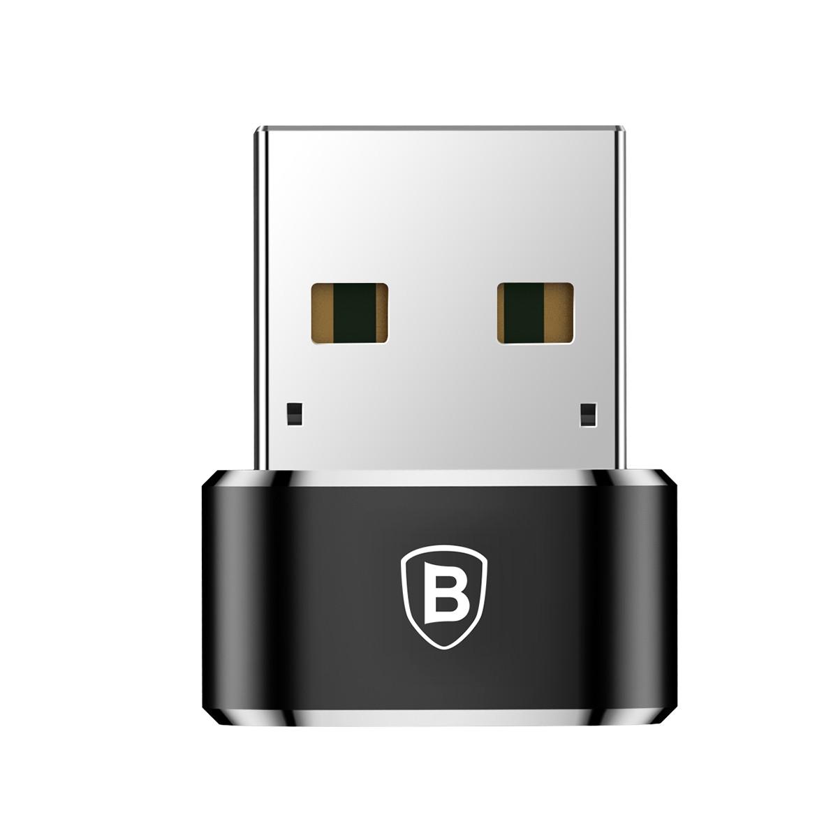 Adaptador Type-C Fêmea para USB Macho