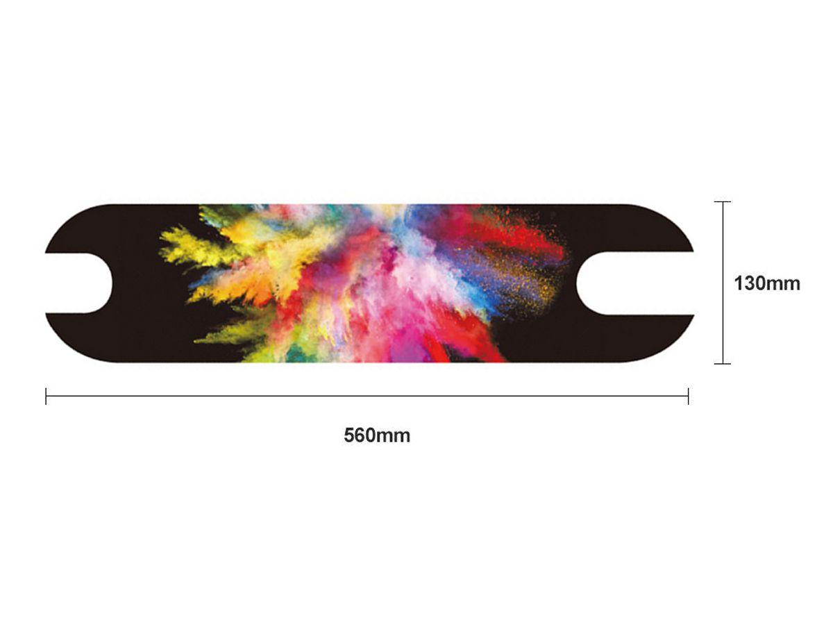 Adesivo Lixa Antiderrapante Decorado para Patinete Elétrico Xiaomi M365