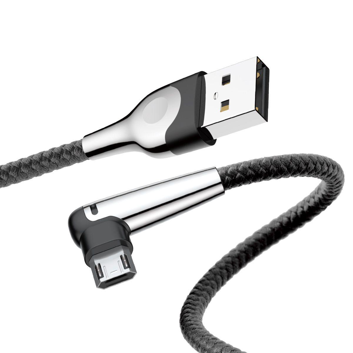 Cabo em L para Mobile Game Baseus Micro USB 1.5A 2m