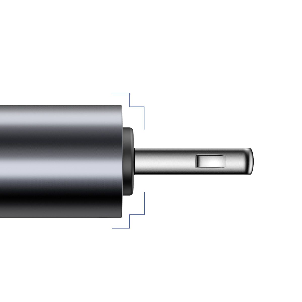 Cabo Espiral Baseus Lightning para iPhone 1.2m 2A