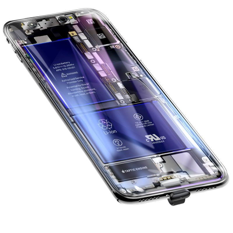 Cabo Lightning Baseus com Ventosa para Mobile Game 1.5A 3m
