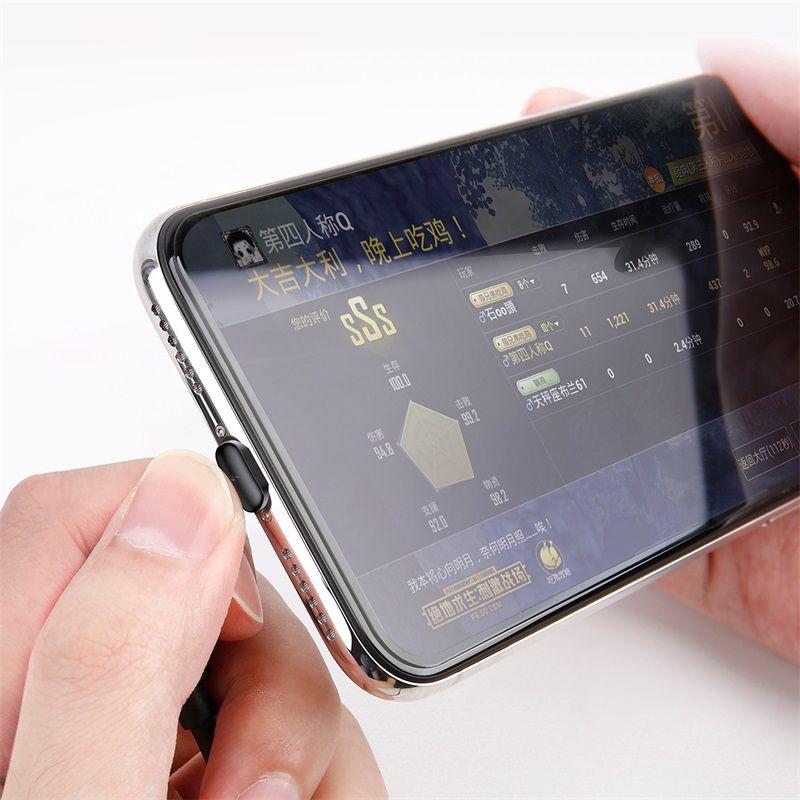 Cabo Lightning Baseus com Ventosa para Mobile Game 2.4A 1m