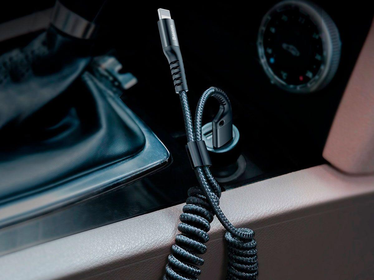 Cabo Lightning USB Flexível Baseus Fish Eye com 2A e 1M