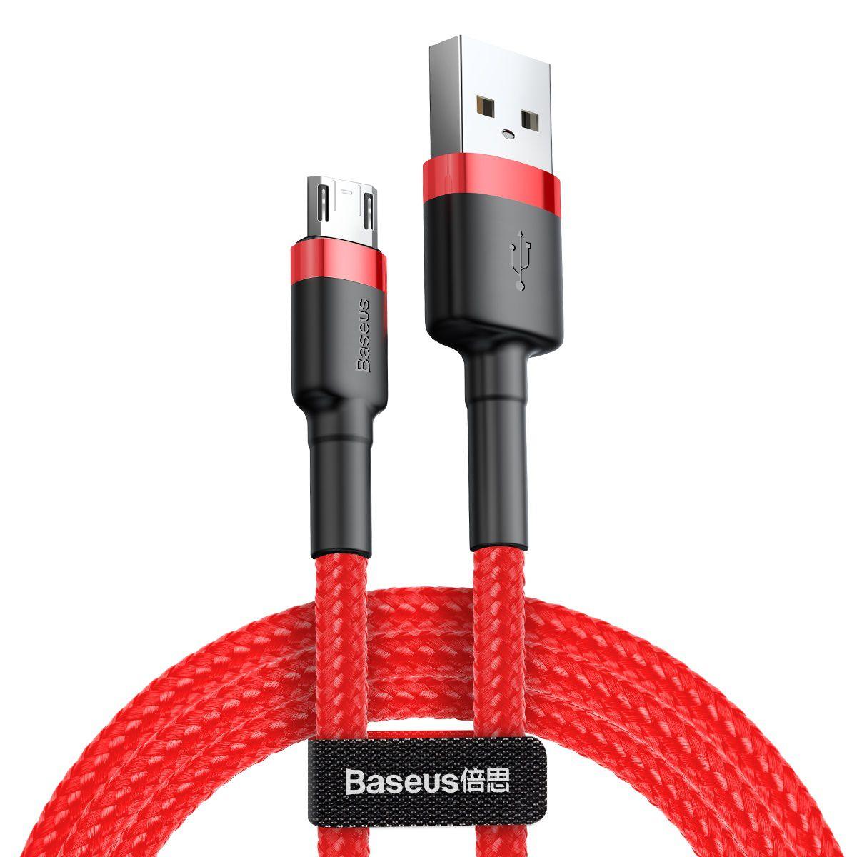 Cabo Micro USB Baseus Cafule 2A 3m