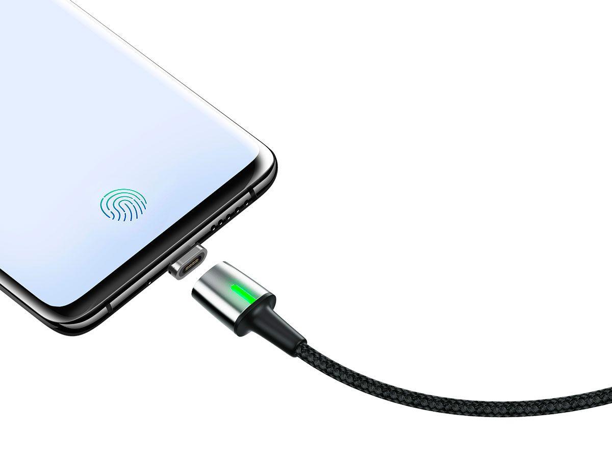 Cabo Type-C para USB Baseus Com Ponta Magnética 3A e 100CM