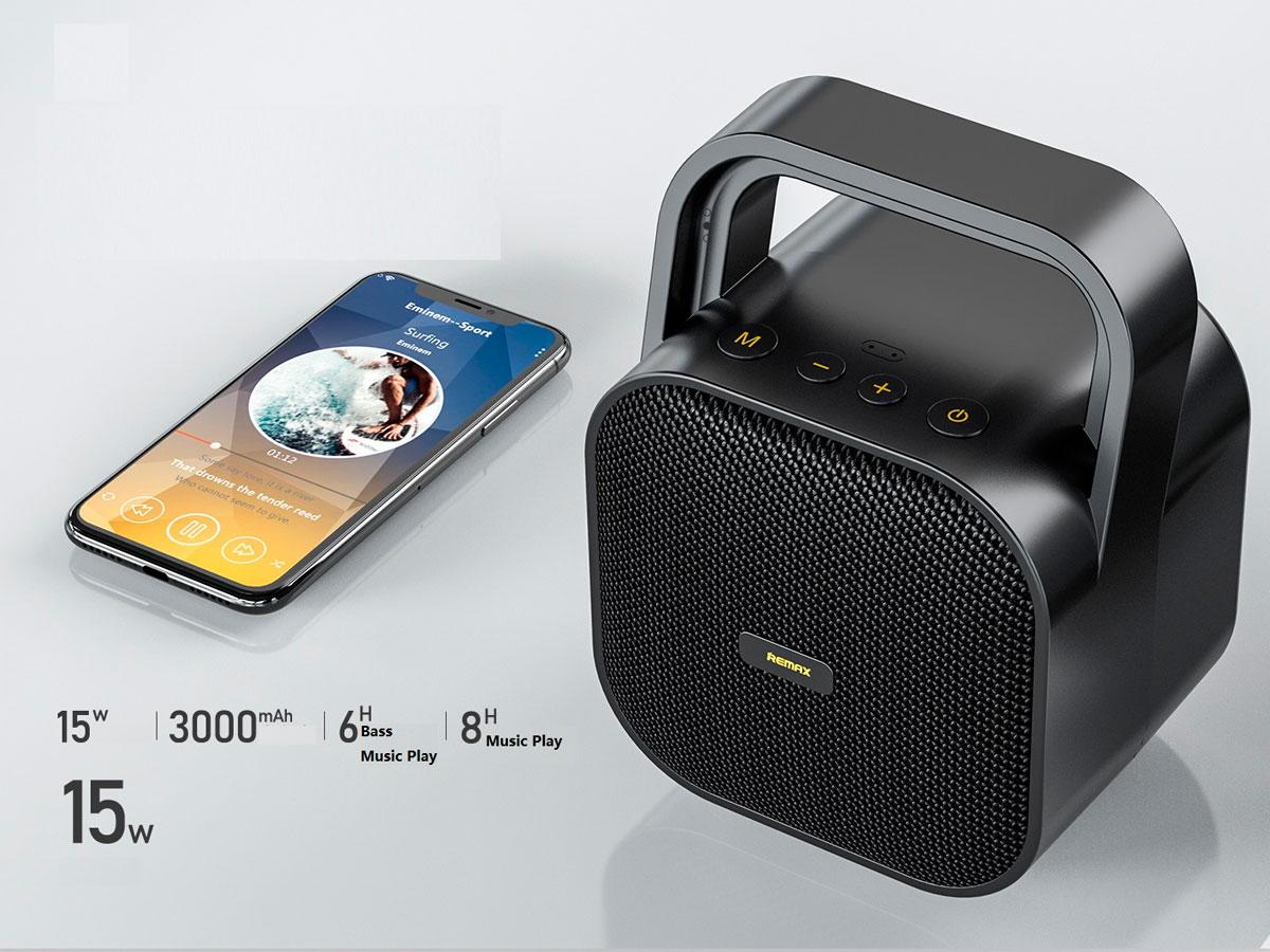 Caixa de Som Bluetooth 5.0 Remax RB-M49 (15W)