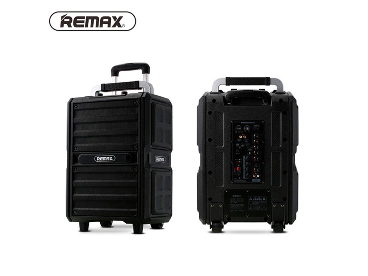 Caixa de Som Bluetooth Portátil Remax Song K + 2 Microfones