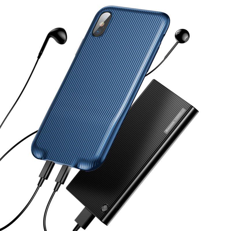 Capa Baseus Audio para iPhone X
