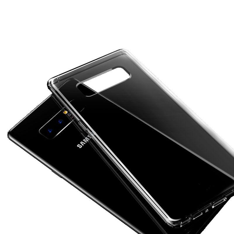 Capa Baseus Simple Series Preta para Samsung Galaxy Note 8