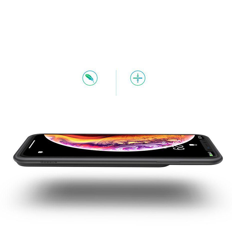 Capa Carregadora Baseus Splint para iPhone XR com 3900 mAh