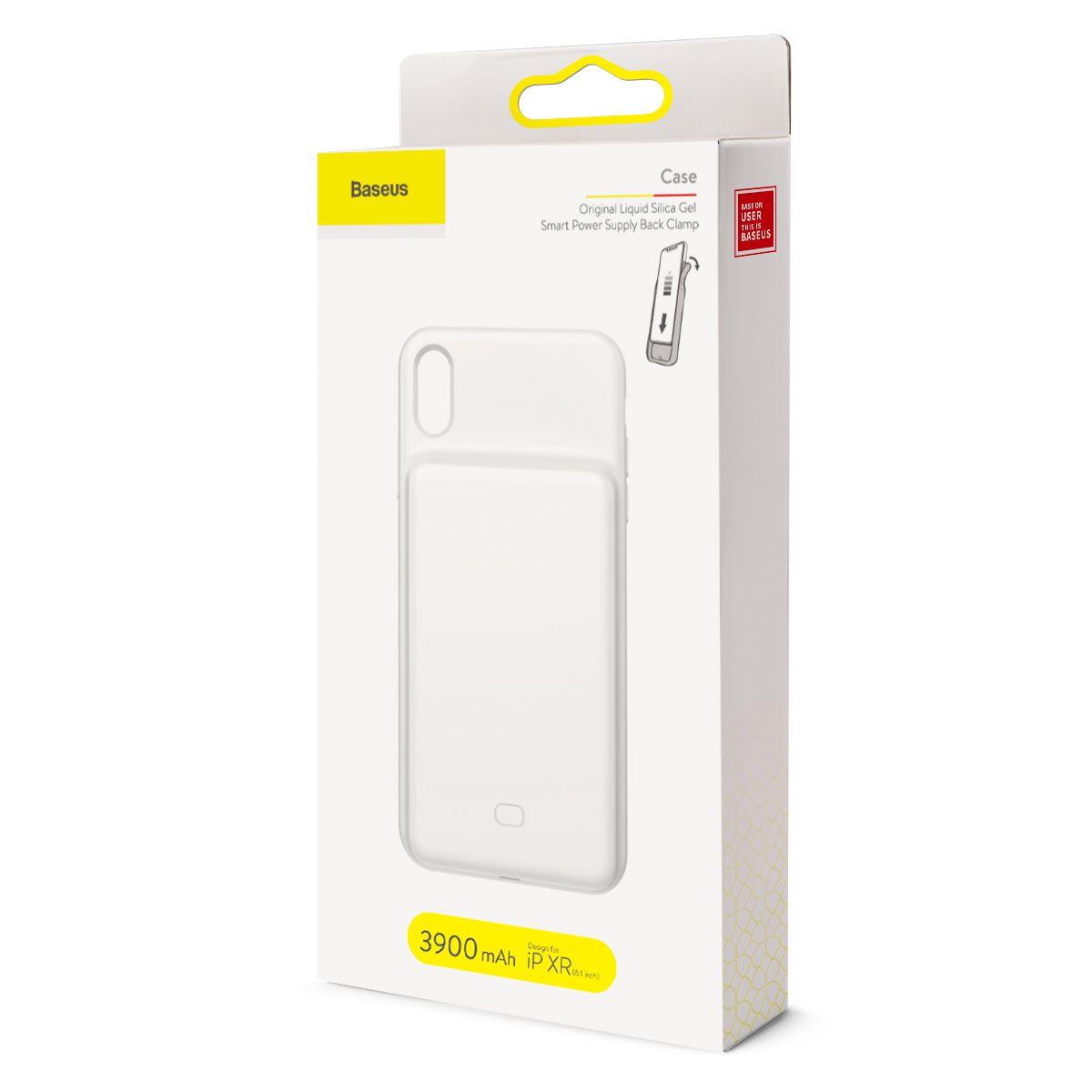 Capa Carregadora Baseus para iPhone XR com 3900 mAh