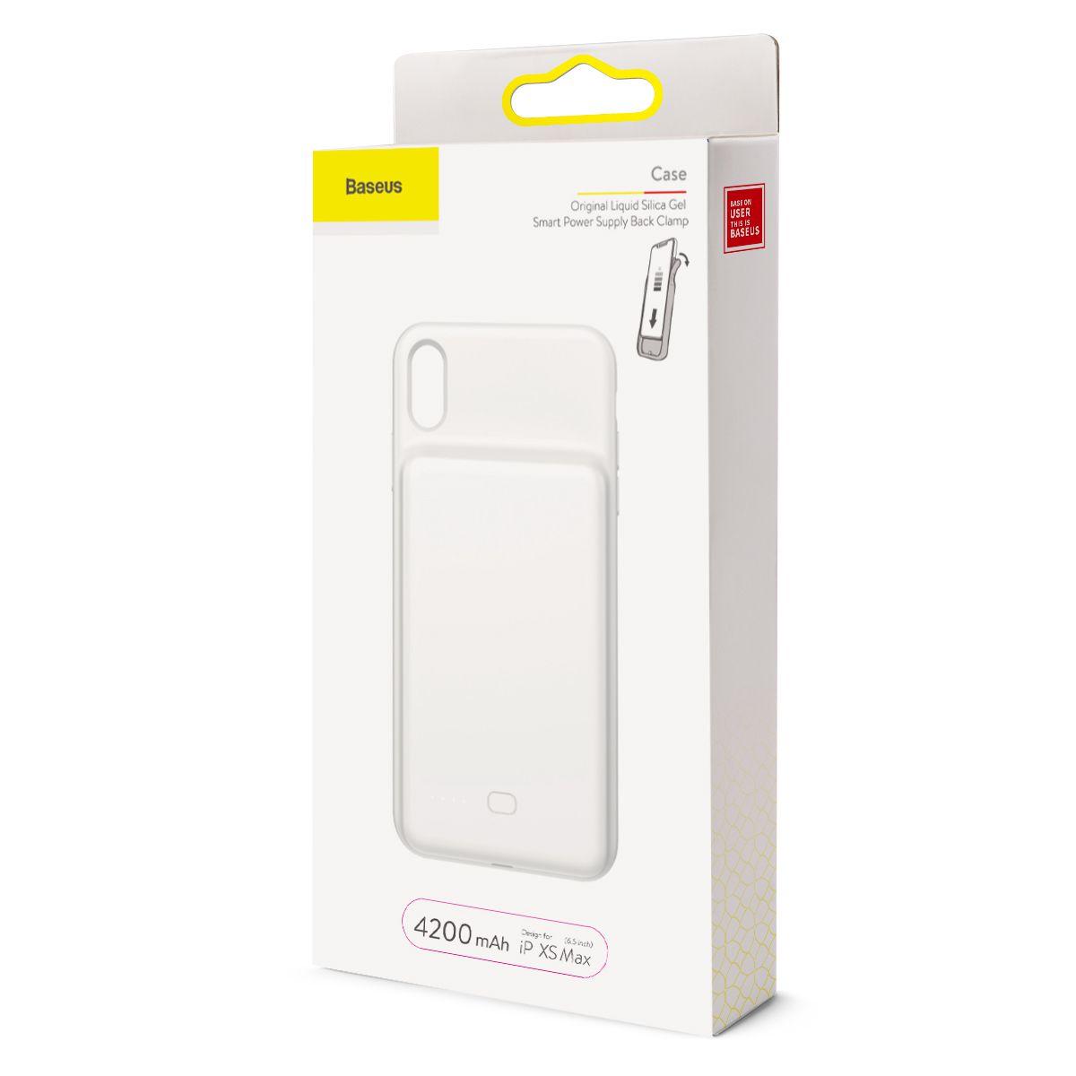 Capa Carregadora Baseus para iPhone XS Max com 4200 mAh