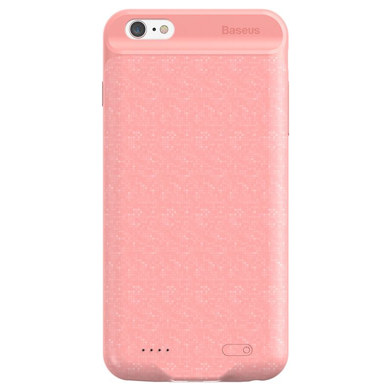 Capa Carregadora Baseus Plaid High Capacity 5000 mAh para iPhone 6 e 6S