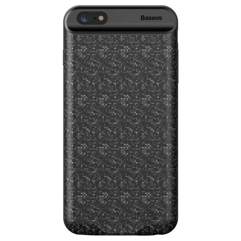 Capa Carregadora Baseus Plaid Slim 3650 mAh para iPhone 7 Plus e 8 Plus
