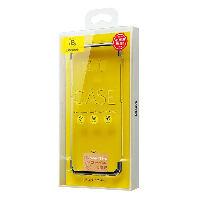 Capa Protetora Baseus Glitter para Samsung S8 Plus