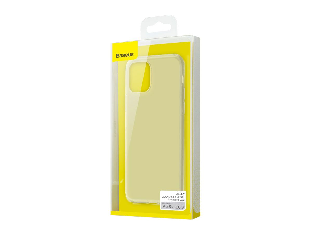 Capa Protetora Baseus Jelly para iPhone 11 Pro em Gel de Sílica