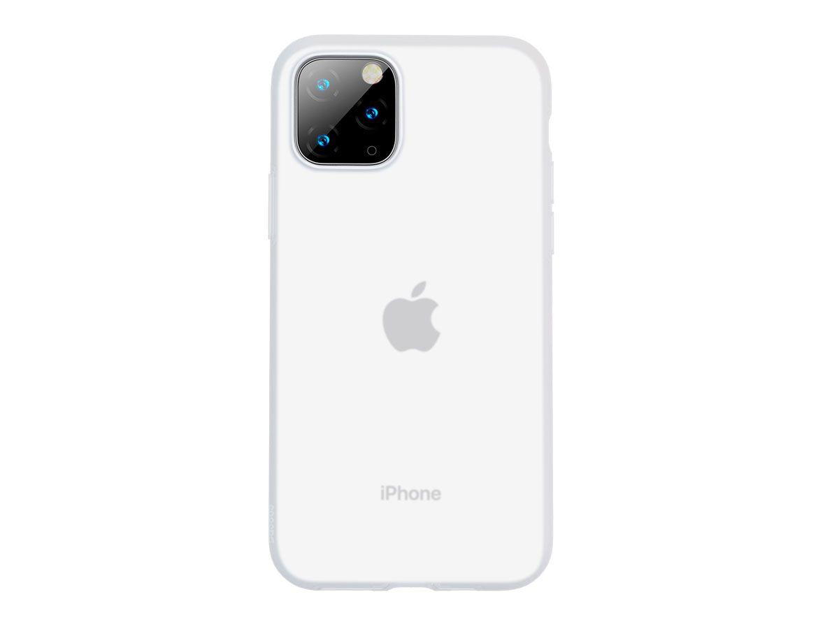 Capa Protetora Baseus Jelly para iPhone 11 Pro Max em Gel de Sílica
