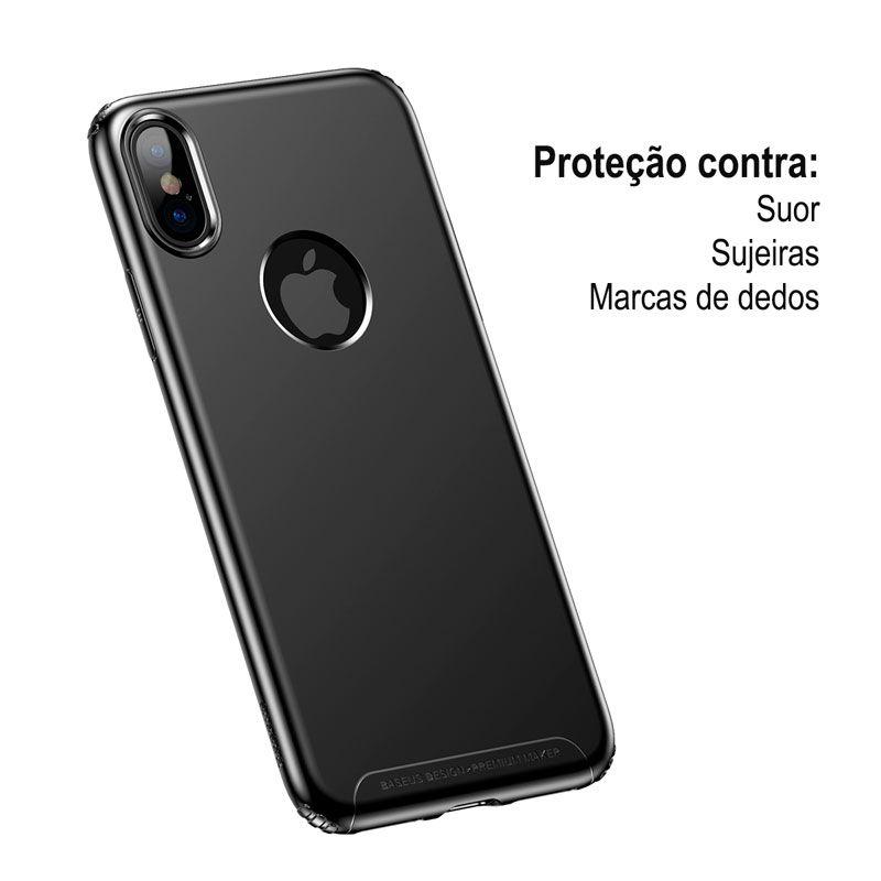 Capa Protetora Baseus Soft para iPhone X