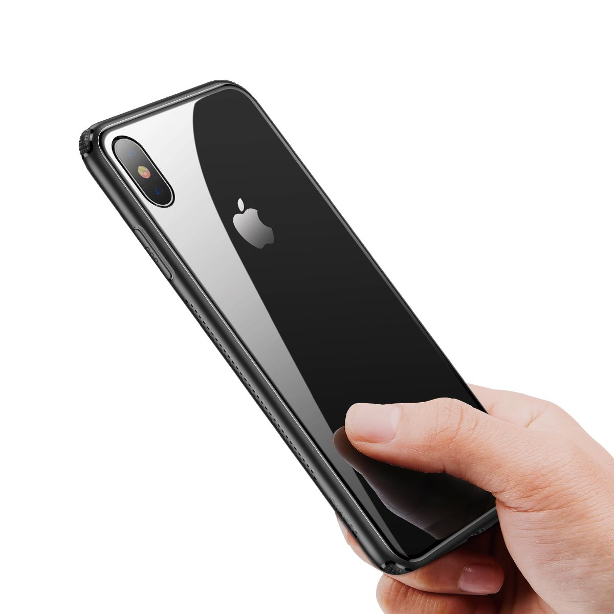 Capa Protetora Transparente para iPhone XS Max Baseus Glass