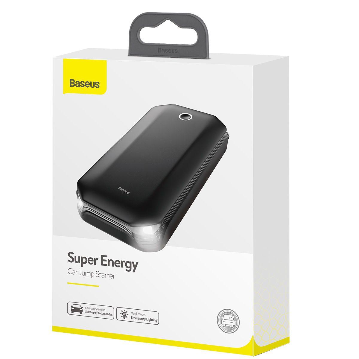 Carregador de Bateria Veicular Baseus Super Energy 8000mAh 5V 2.4A