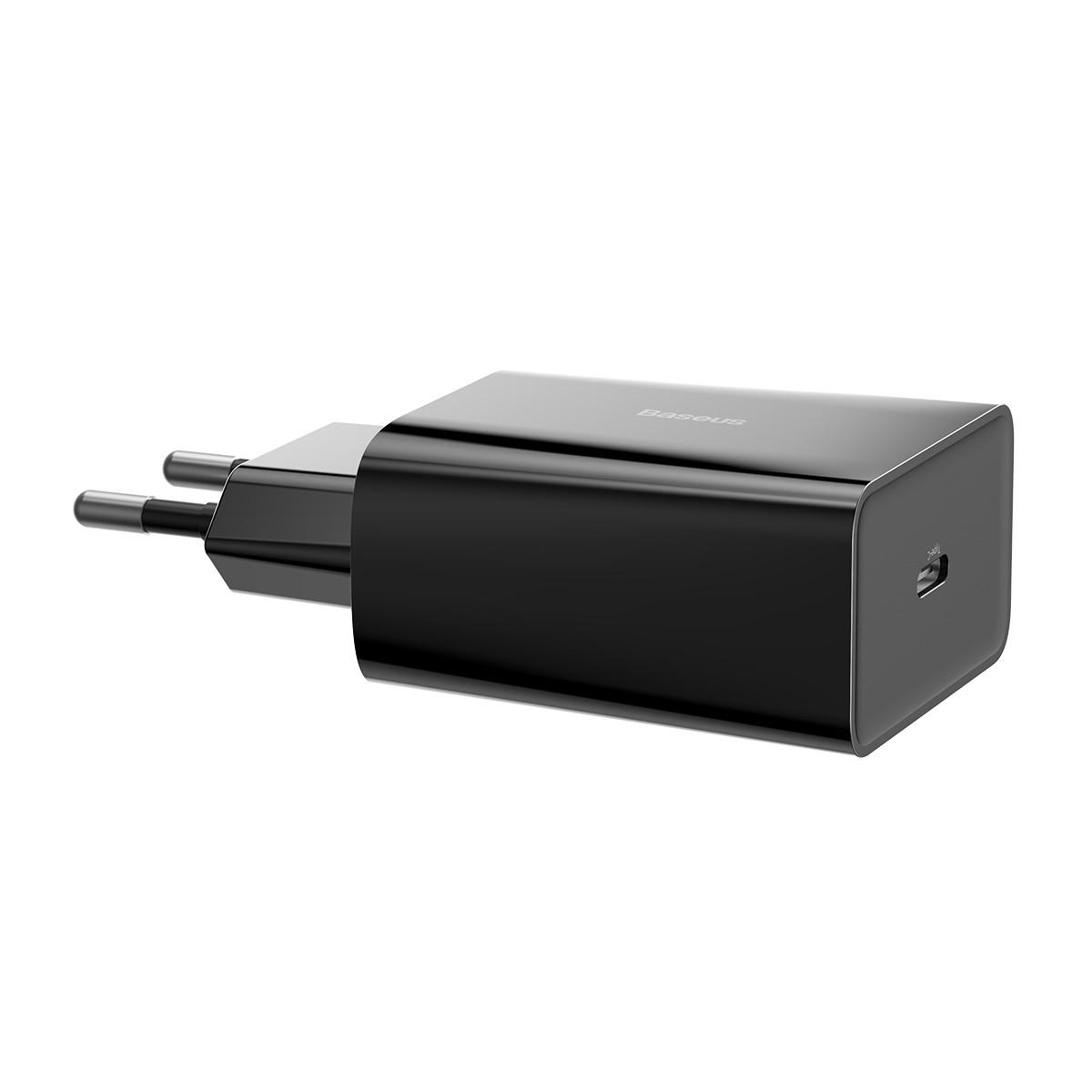 Carregador de Parede Baseus  Speed Mini 18W PD QC 3A