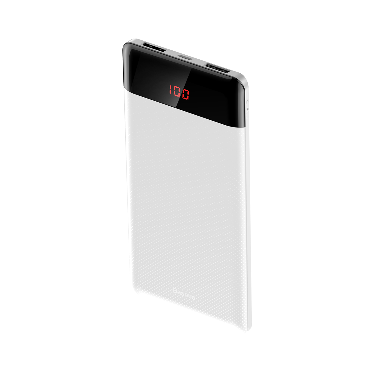 Carregador Portátil 2x USBs Baseus Mini Display 10.000 mAh