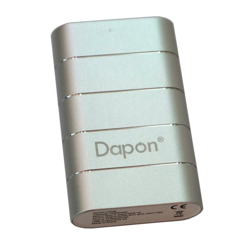 Carregador Portátil Dapon 10.500 mAh Y303S Quick Charge 3.0