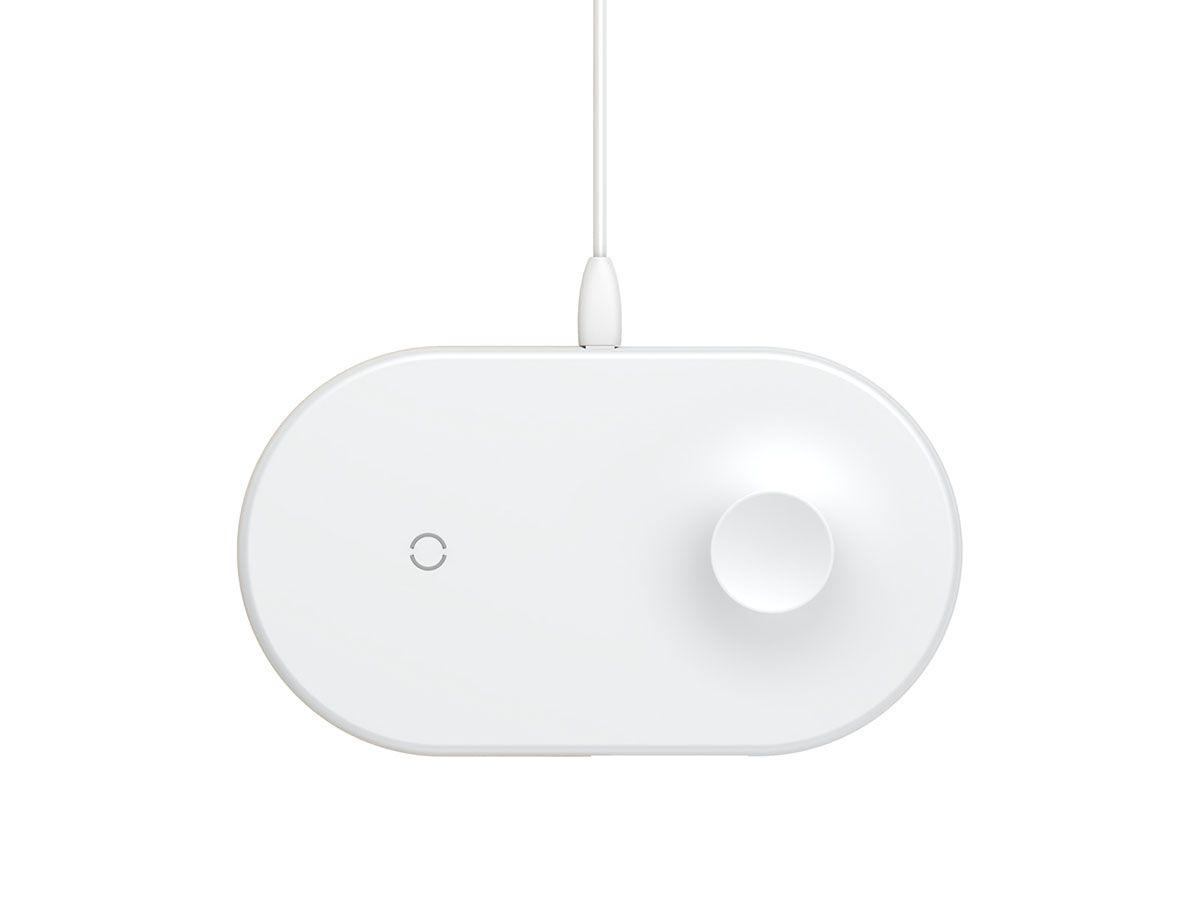 Carregador Sem Fio 2n1 Baseus para Apple Watch e Smartphones