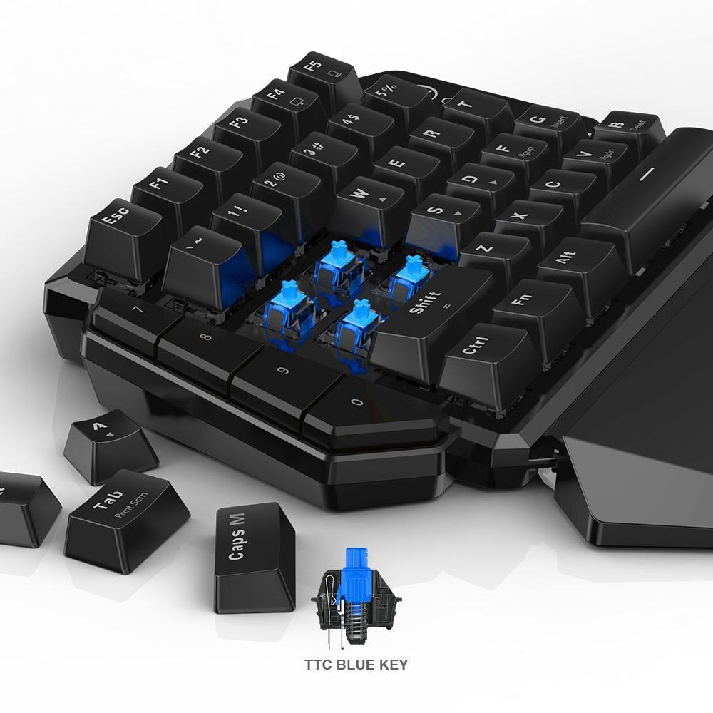 Conjunto de Teclado e Mouse sem fio GameSir Z2