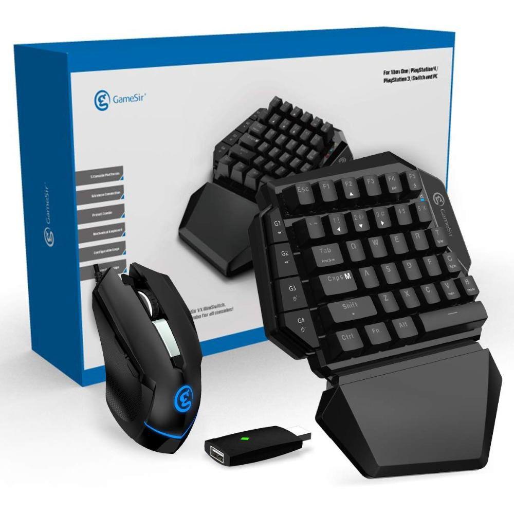 Conjunto Teclado + Mouse GameSir  VX ArmSwitch