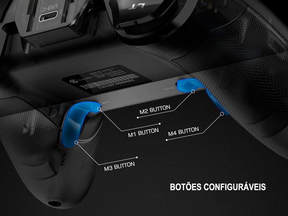 Controle Sem Fio GameSir T4 Pro Multi-plataformas (iOS / Android / PC / Switch)